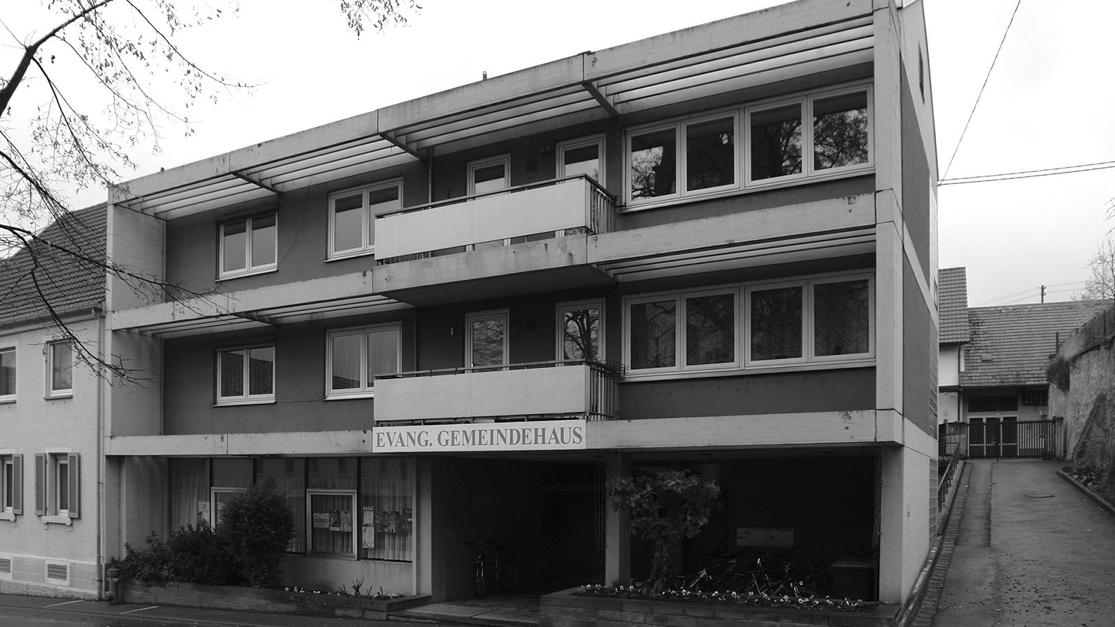 Stocker Dewes Architekten BDA – Evangelisches Gemeindehaus Bestand, Ihringen am Kaiserstuhl