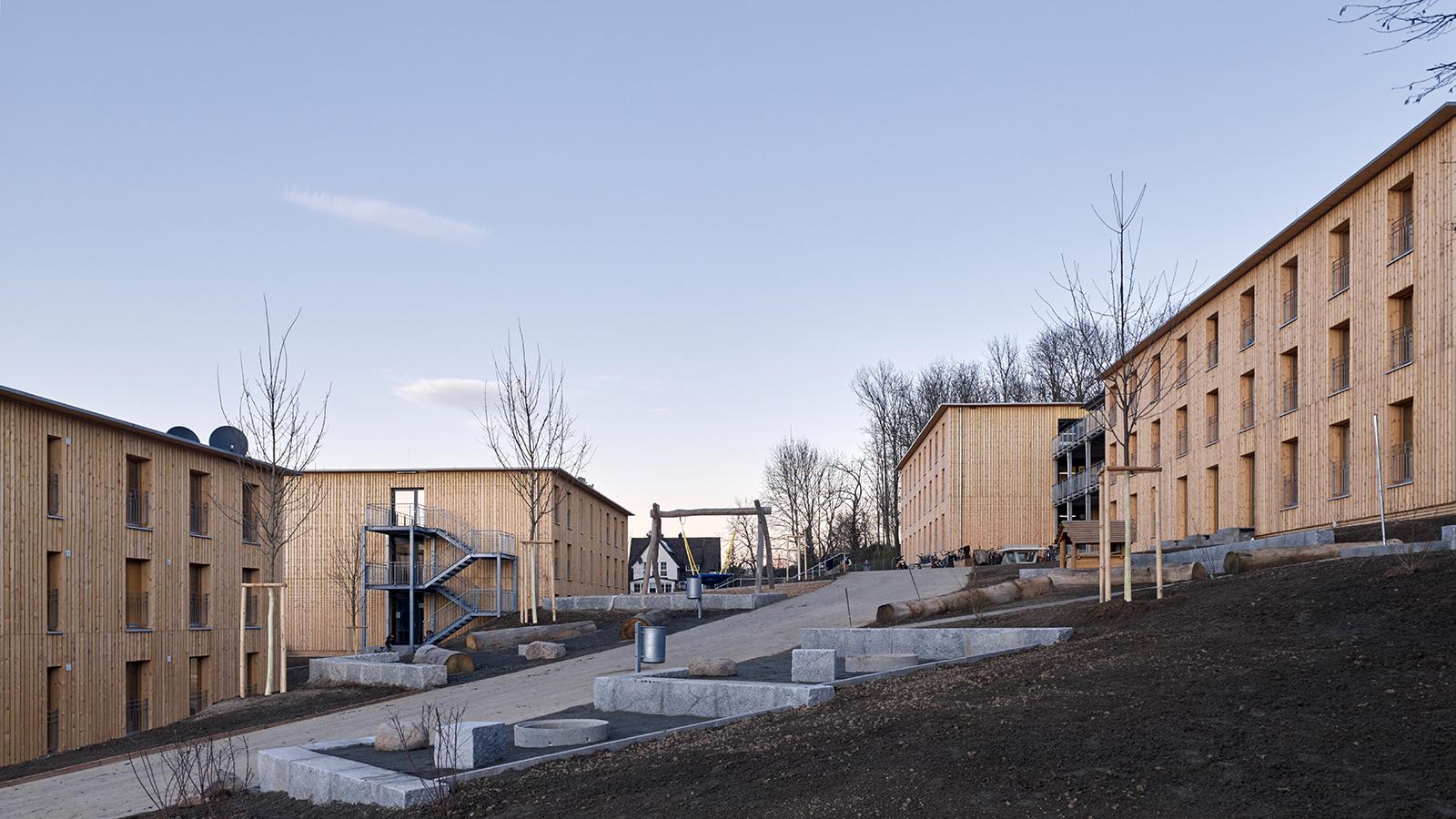 Stocker Dewes Architekten BDA – Wohnheime für Geflüchtete, Freiburg im Breisgau